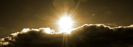 Céu & nuvens fotografia de stock