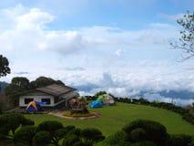 Céu ao norte de Tailândia Fotos de Stock