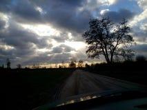 Céu após a chuva Fotos de Stock Royalty Free