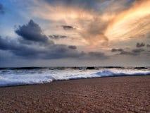 Céu após o pôr do sol Imagem de Stock Royalty Free