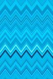 Céu azul, água-marinha, azul esverdeado, mar-verde, turquesa Fundo da arte abstrato do teste padrão de ziguezague de Chevron Fotografia de Stock Royalty Free