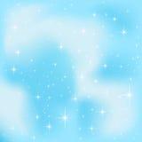 Céu azul ilustração do vetor