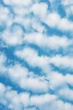 Céu azul. Imagem de Stock
