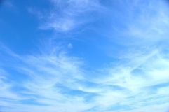 Céu azul 596 fotografia de stock