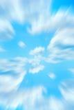Céu azul abstrato Fotos de Stock