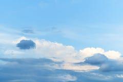 Céu azul com nuvem Foto de Stock Royalty Free