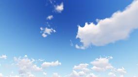 Céu azul com nuvem Fotografia de Stock Royalty Free