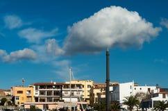 Céu azul com nuvens brancas Imagem de Stock Royalty Free