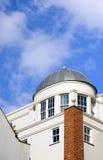 Céu azul da abóbada branca Fotos de Stock