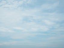Céu azul das nuvens Fotos de Stock