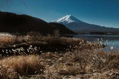 Céu azul de Fuji Foto de Stock Royalty Free