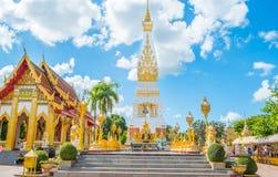 Céu azul do pagode do templo Fotografia de Stock Royalty Free