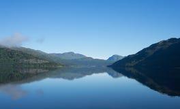 Céu azul e água Imagens de Stock