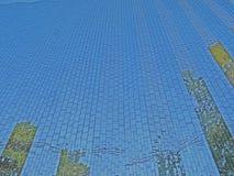 Céu azul e fundo Imagem de Stock Royalty Free