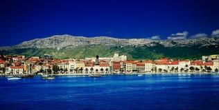 Céu azul e mar Imagem de Stock Royalty Free