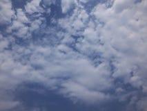 Céu azul e nuvem Fotos de Stock Royalty Free