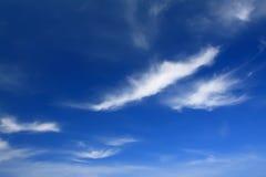 Céu azul e nuvem Fotografia de Stock Royalty Free