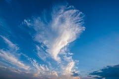 Céu azul e nuvens brancas, céus azuis Foto de Stock Royalty Free