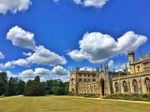 Céu azul em Cambridge imagens de stock royalty free