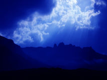 Céu azul ideal Fotografia de Stock Royalty Free