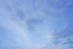Céu azul na tarde fotografia de stock royalty free