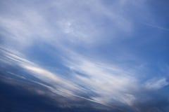 Céu azul no verão imagens de stock royalty free