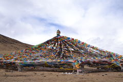 Céu azul nos Himalayas Fotos de Stock