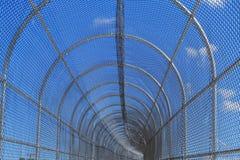 Céu azul obstruído Imagem de Stock