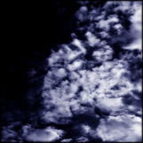 Céu azul sonhador Imagens de Stock Royalty Free