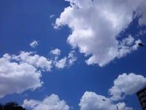 Céu bonito imagem de stock
