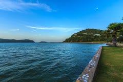 Céu bonito com mar Imagem de Stock