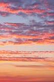 Céu bonito com nuvens Foto de Stock Royalty Free