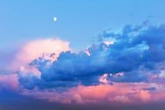 Céu bonito feericamente Fotografia de Stock