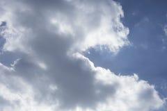 Céu brilhante foto de stock