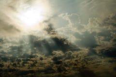 Céu cinzento Foto de Stock Royalty Free