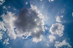 Céu claro da nuvem Foto de Stock Royalty Free