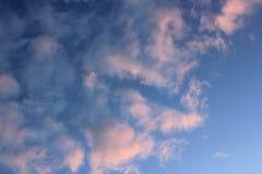 Céu colorido Imagens de Stock