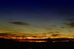 Céu colorido 1 Imagem de Stock Royalty Free