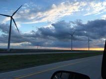 Céu colorido de Colorado fotos de stock