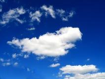 Céu com nuvens Fotos de Stock Royalty Free