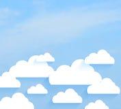 Céu com nuvens Foto de Stock Royalty Free