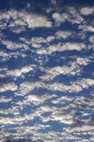 Céu com nuvens Imagens de Stock