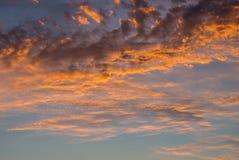 Céu com nuvens Imagem de Stock Royalty Free