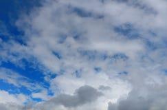 Céu com nuvens Imagem de Stock