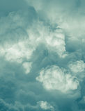Céu com nuvens de tempestade Foto de Stock Royalty Free