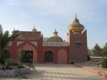 céu Construções bonitas de Arabical fotografia de stock royalty free
