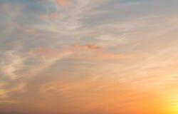 Céu crepuscular Foto de Stock Royalty Free