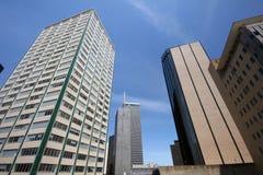 Céu da baixa de Dallas Imagens de Stock