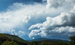 Céu da chuva Foto de Stock