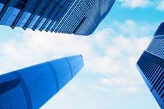 Céu da cidade Imagens de Stock
